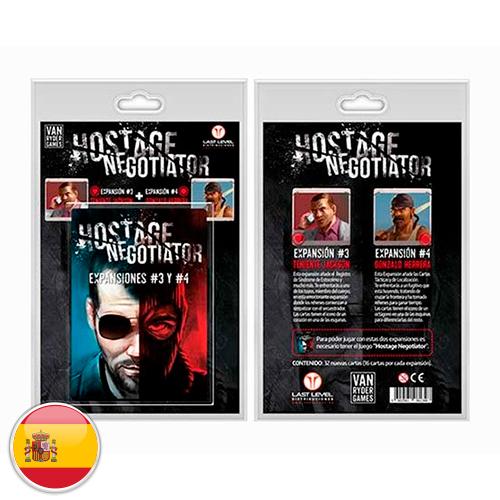 Hostage Negociator Expansiones 3 y 4