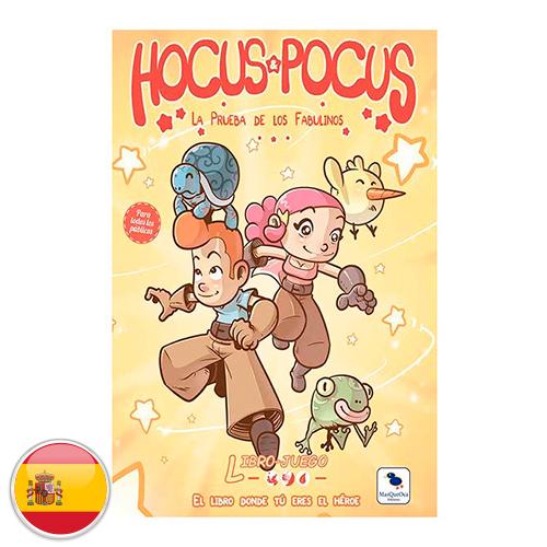 Librojuego: Hocus Pocus
