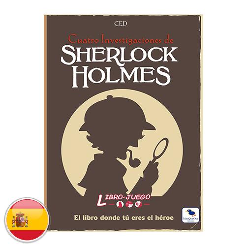 Librojuego: Sherlock Holmes cuatro investigaciones