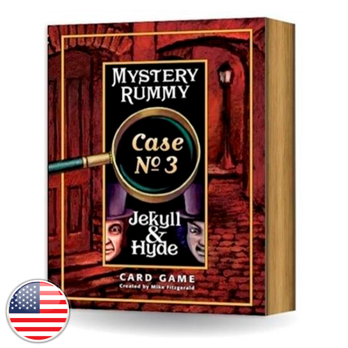 Mystery Rummy Case #3 Jeckill and Mr Hide