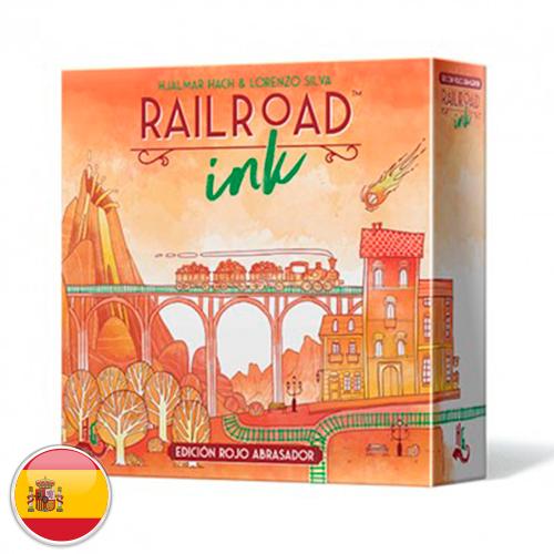 Railroad Ink: Edición rojo abrasador