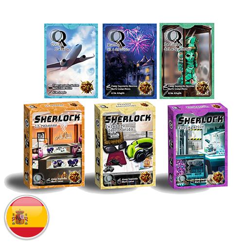 Serie Q: Sherlock Pack